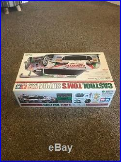 Tamiya Castrol Toms Supra 2000 58264 Tl-01 New In Box Kit Vintage Ultra Rare