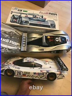 Tamiya F103lm Audi R8r Inc Box & Porsche Gt 98lm Vgc Bodysets F103rs F103 Rare