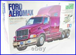 Tamiya Ford Aeromax 1/14 Electric RC Semi Tractor Truck Kit 56309 BOX DAMAGE