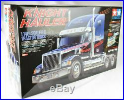 Tamiya Knight Hauler 1/14 Electric RC Semi Tractor Truck Kit 56314 BOX DAMAGE