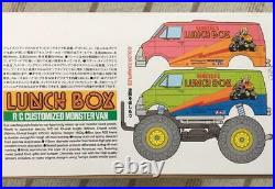 Tamiya Lunch Box Toy Rc Car 1/12 Scale Unassembled Radio Control F/s From Japan