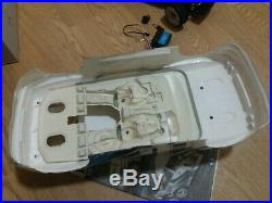 Tamiya Rc 1/10 Vintage Escort Cosworth With Box And Ins. Vgc. +rx/tx And Servo