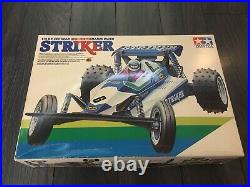 Tamiya Striker 5861 Buggy 110 Rc Car, New In Box, Original 1987 Vintage Example