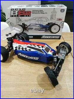 Team Associated B6.2, carpet/astro only, immaculate, original box & instructions