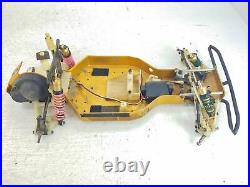 Team Associated RC10 Gold Pan Vintage RC Car Roller Slider Chassis with Box