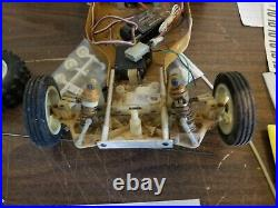 Team Associated RC10 Vintage In Original Box For Parts Gold Pan
