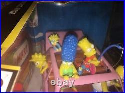 The Simpsons R/C Remote Radio control Car Boxed RARE