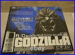 Tokyo Marui Radio control BIOLLANTE VERSIN GODZILLA Used Made in JAPAN With box