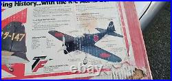 Top Flite A6M2 ZERO Red Box a very Rare kit brand new in box