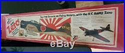 Top Flite Red Box Zero Vintage R/C Airplane Kit NIB