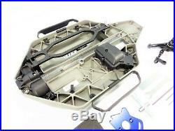 Traxxas 4x4 Slash Chassis Set Bulkheads Motor Mount Receiver Box Bellcrank 4wd