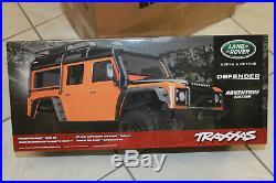 Traxxas 8011A Check Land Rover Defender Adventure Edition Orange TRX New Boxed
