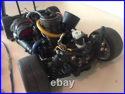 Traxxas Nitro 4-tec 2.5 AWD RC Car Og Box-Charger-Bunch Extra Parts Supercar