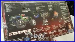 Traxxas Stampede VXL 36076-4-GRN Brushless 1/10 RTR Sealed Box GREEN