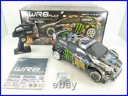 ULTRA RARE HPI WR8 FLUX Ken Block Gymkhana RX43 RTR 1/8 4WD Rally Car (Open Box)