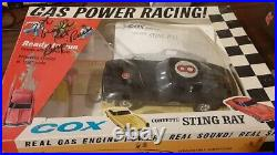 VINTAGE 60'S MINT COX GAS POWERED CORVETTE STING RAY With BOX