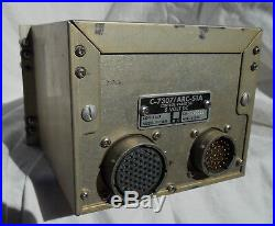 Vietnam War Era USN A-4 Skyhawk Type UHF Radio Control Box