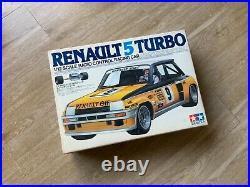 Vintage 1981 Tamiya RENAULT 5 TURBO RC new in original box 1/12 scale