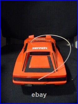 Vintage 1987 Nikko RC Ferrari testarossa. WithBox Fully Functional