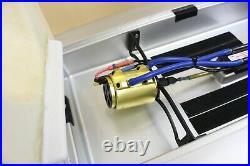 Vintage 32 Aqua Craft Remote Control Motley Crew Speed Boat With Box RC Toy
