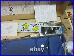 Vintage Carl Goldberg Senior Falcon, R/c Kit, #g16, New In Box