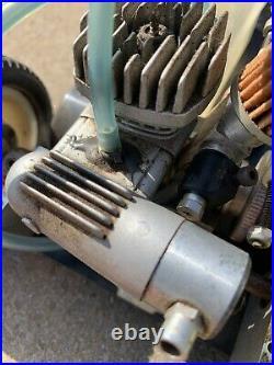 Vintage Duratrax GT-10 2WD RARE RC NITRO/OS Motor With Original BOX & Decals