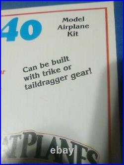 Vintage Great Planes Bid Stick 40 Airplane Kit New In Box WS=59
