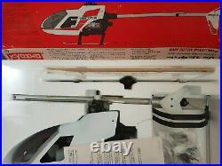 Vintage Kyosho Concept 30 nitro Helicopter, brand new boxed, enya 30,1988