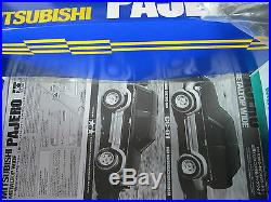Vintage New in Open Box Tamiya RC 1/10 Mitsubishi Pajero MetalTop Wide 4WD CC-01
