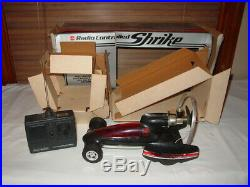 Vintage Nitro Cox Rc Shrike control line and radio controlled With Box