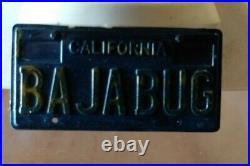 Vintage Orange Tamiya SAND SCORCHER VW BAJA BUG Body #506 & Tamiya Box
