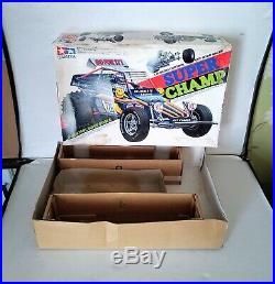 Vintage Original 80, s Tamiya Super Champ (Boxed)