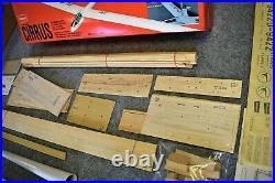 Vintage / Rare R/C model sailplane Graupner Cirrus New in box