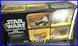 Vintage Star Wars Radio Controlled Jawa Sandcrawler Kenner 1977 WithOpened Box