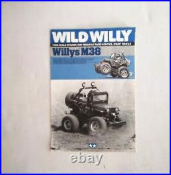 Vintage TAMIYA WILD WILLY M38 1982 Boxed + Manual, Etc (EXCELLENT)