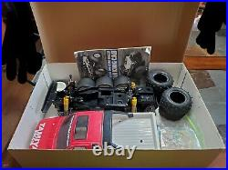 Vintage Tamiya 1/10th Nissan King Cab Truck With Box R/c Very Clean Chassis