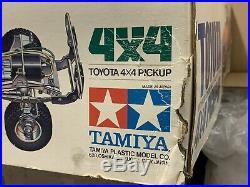 Vintage Tamiya Original Model 1981 Toyota Hilux Empty Kit Box & Inner Boxes