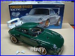 Vintage Tamiya Porsche 911 Gt2 47321 With Box Very Nice Chassis Servo + Esc Incl