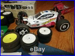 Vintage Team Losi Rc 1/10 Xxx4 4wd Buggy Complete With Box + Extras