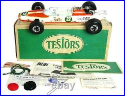 Vintage Testors Sprite Special Gas Powered Tether Indy 500 Car Unused withBox