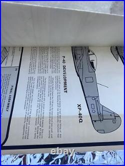 Vintage Top Flite P-40 Warhawk Kit Yellow Box Kit No. RC-17 New Open Box
