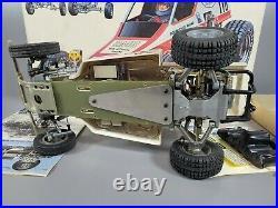 Vintage Use 80's Tamiya 1/10 Rough Rider Racing Buggy No RA-1015 with Box manual