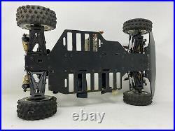 Vtg KYOSHO Slingshot 4WD Dirt Oval Racer 1/10 RC Car -Ex With Orig Box Almost RTR