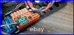 XRAY T1 1/10 vintage Electric 4WD RC Car with original box, manuals, cert of auth